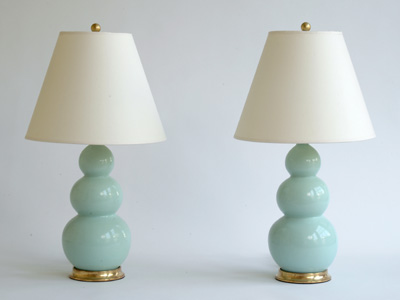 75% Off On MarthaLighting Colored Glass Lamp From JCPenney