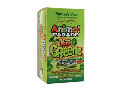 Freebie: Animal Parade KidGreenz Children's Chewables