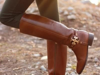 Bloomingdales Tory Burch Tall Flat Riding Boots