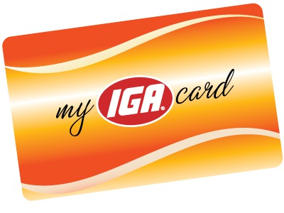 My-IGA-Card