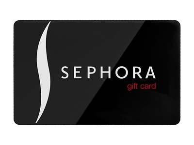 Sephora sweepstakes Gift Card