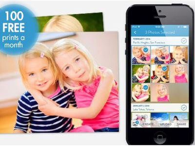 100 Free Snapfish Prints a Month for One Year