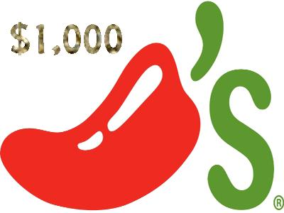 Empathica Daily $1,000 Cash Giveaway In Chili's Grill & Bar Guest Survey