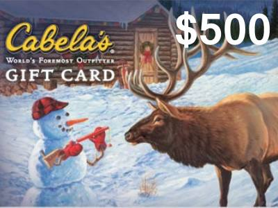 www.cabelas.ca/retailsurvey Win CND$500 Gift Card In The Monthly Cabela's Customer Satisfaction Survey Sweepstakes