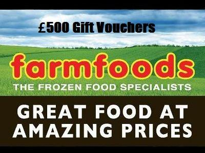 Win £500 Farmfoods Gift Vouchers From The Monthly Sweepstakes