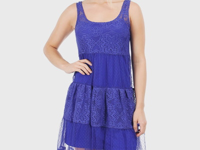 Girls Best Friend Dress Cobalt Blue