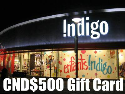 Win CND$500 Gift Card In The Indigo Books & Music Inc. Survey Contest