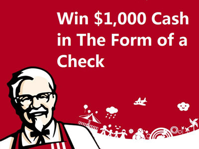 www.talktokfc.com Win $1,000 Cash By Entering The KFC Customer Satisfaction Survey Sweepstakes