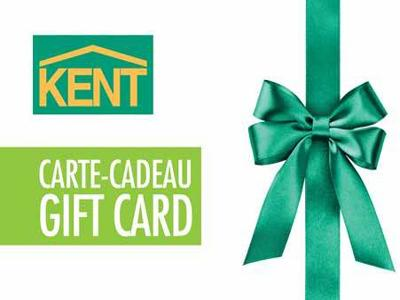 Kent Building Supplies $1,000 In Kent Gift Card Giveaway