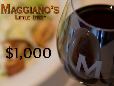 www.tellmaggianos.com Win $1,000 Daily In Maggiano's Little Italy Guest Survey
