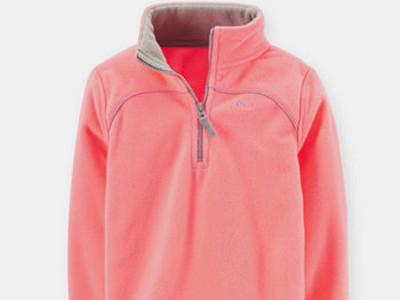 Microfleece Athletic Pullover