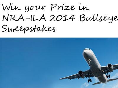 NRA-ILA 2014 Bullseye Sweepstakes