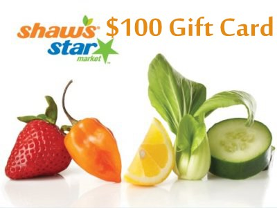 Sweepstakes: Win A $100 Gift Card In The Shaw's Supermarket Survey Weekly Sweepstakes