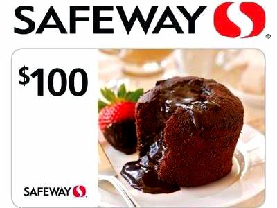 Safeway Is Giving Away 48 $100 Gift Cards! Enter The Monthly Sweepstakes
