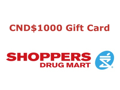 www.surveysdm.com Win CND$1000 Worth Of Gift Card From Shoppers Drug Mart