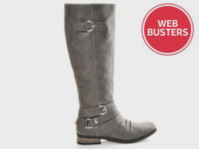 Women's Rampage Ruched Vamp Riding Boots