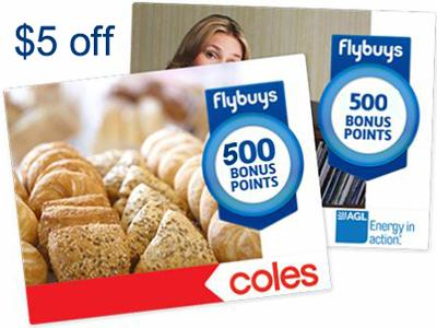 Get 500 Flybuys Bonus Points Or $5 Off From Coles Customer Survey