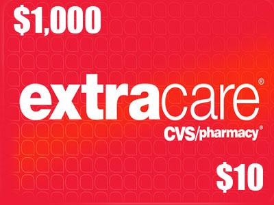 Enter CVS Pharmacy $1,000 Monthly Sweepstakes