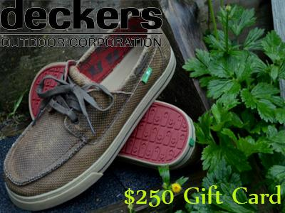 Win Deckers $250 Gift Card Guest Survey Quarterly Drawing