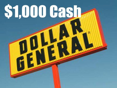 Sweepstakes: Win $1000 Cash In The Monthly Dollar General Customer Satisfaction Survey Sweepstakes