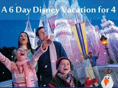 Win A Disney Vacation For 4 And Other Prizes In The Disney Frozen Sing-Along Sweesptakes