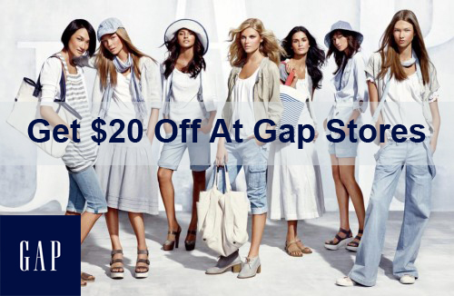 www.survey4gap.com Get $20 Off At Gap Stores With The Code In A Survey
