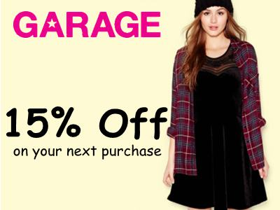 Enjoy 15% Off With A Free Coupon From Garage Customer Satisfaction Survey