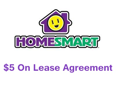 Enjoy $5 Credited On Your Lease Agreement From Homesmart Feedback Survey