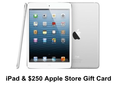 Win An iPad And A $250 Apple Store Gift Card From VSP EnVision Sweepstakes