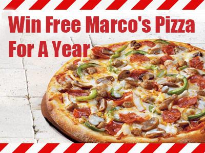 Win Marco's Free Pizza For A Year In Marco's Pizza Online Customer Survey Sweepstakes