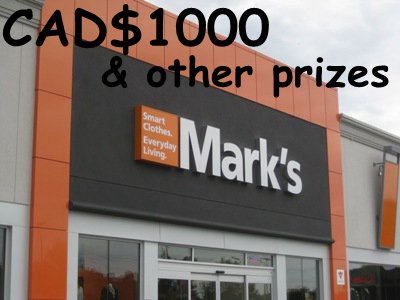 Win $1000 In The Mark's Customer Satisfaction Survey Sweepstakes