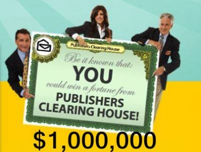 Win 1 Million Dollars From PCH In The SuperPrize Giveaway