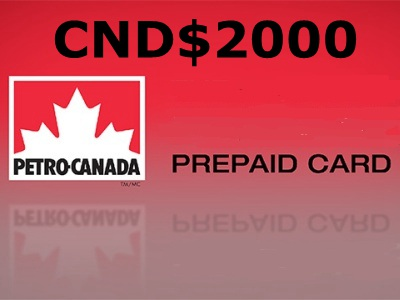 Sweepstakes: Get Your Pre-Paid Card Of CND$2,000 In The Petro Canada Guest Satisfaction Contest