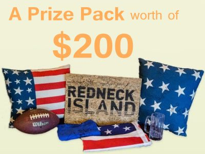 Win A Prize Pack Worth Of $200 In The Ultimate Redneck Island Prize Pack Sweepstakes