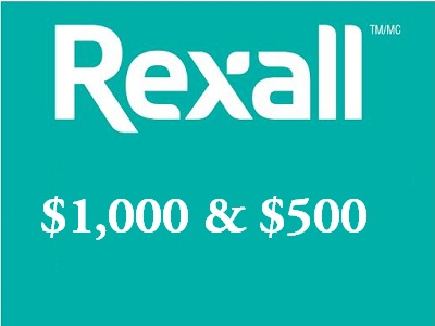 10 Chances To Win Empathica $1,000 In Rexall Survey Sweepstakes And More
