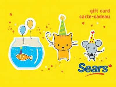 Sears Canada Customer Experience Contest $100 Gift Cards Giveaway