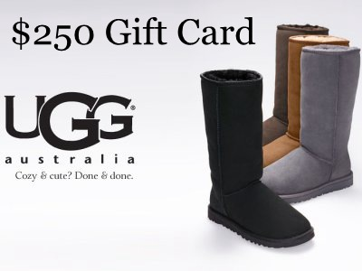 Sweepstakes: Win a $250 Deckers Gift Card by Entering Deckers' Promotion Through UGG Australia Survey