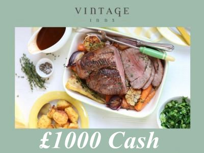 Sweepstakes:Win £1000 Daily In The Vintage Inns Guest Satisfaction Survey