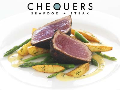 Chequers Seafood Steak