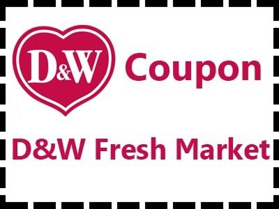 D&W fresh market coupon