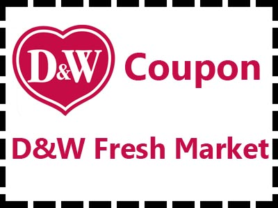 www.dwfreshmarketsurvey.com Receive A D&W Fresh Market Coupon Through Spartan Customer Survey To Redeem Your Free Offer