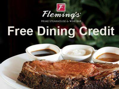 Fleming's dinning credit