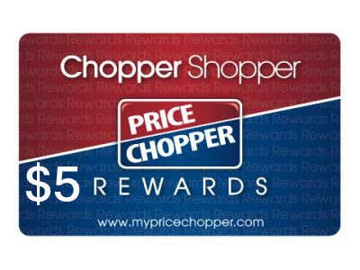 Earn $5 Incentive To Your Chopper Shopper Rewards Card Through Price Chopper Customer Survey