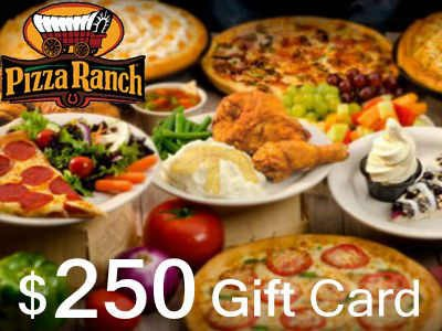 Win A $250 Gift Card In Pizza Ranch Guest Survey Sweepstakes