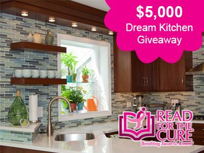 Read For The Cure Is Giving Away $5,000 Toward A Dream Kitchen Makeover