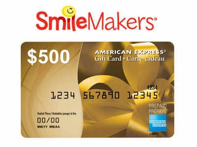 Win A $500 American Express Gift Card In The SmileMakers 2014 Customer Satisfaction Survey Sweepstakes