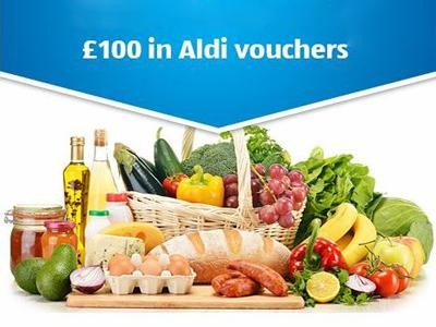 "Win ""Tell Aldi"" Competition For One Set Of Aldi Vouchers Worth £100 Each Month"