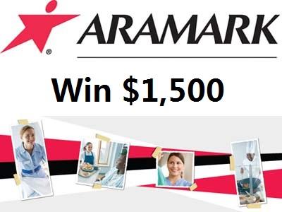 www.healthcarediningvoice.com Win Up To $1,500 Through Aramark Healthcare Customer Satisfaction Survey