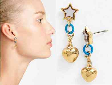All Stars Drop Earrings designed by Marc Jacobs