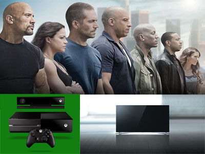 www.fandango.com/sweepstakes/furious7 Win A Smart TV, A Xbox One And More Prizes In The Furious 7 Sweepstakes